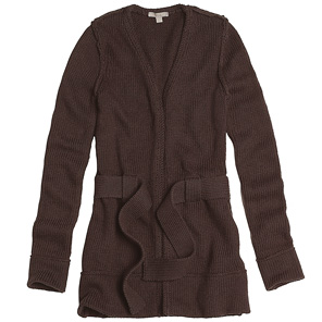 Belted Cardigan: $85