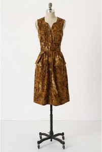 anthropologie dress sale