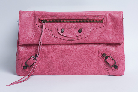 win a balenciaga clutch