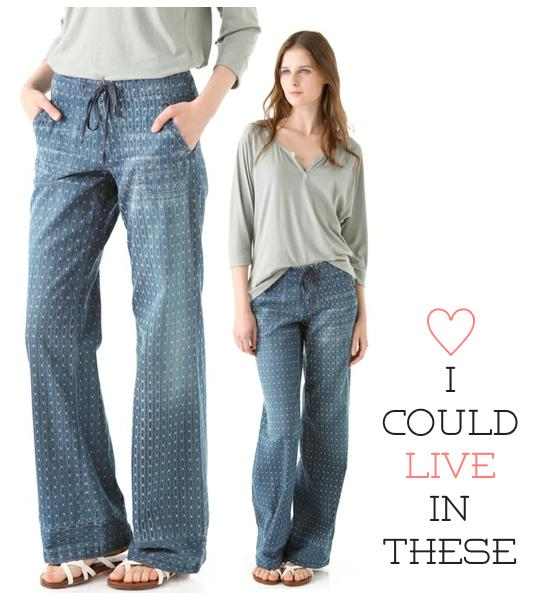 citizens of humanity drawstring pants
