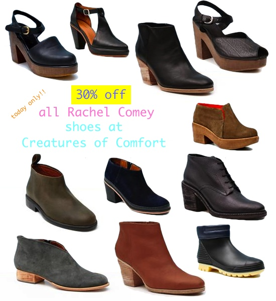 rachel comey shoes 30% off