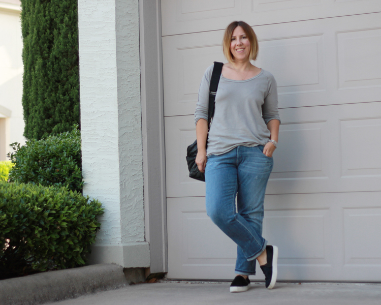 Boyfriend Jeans for the Thick of Leg