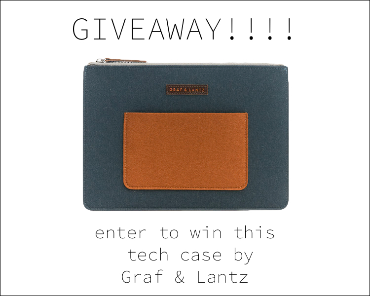 graf and lantz tech case giveaway