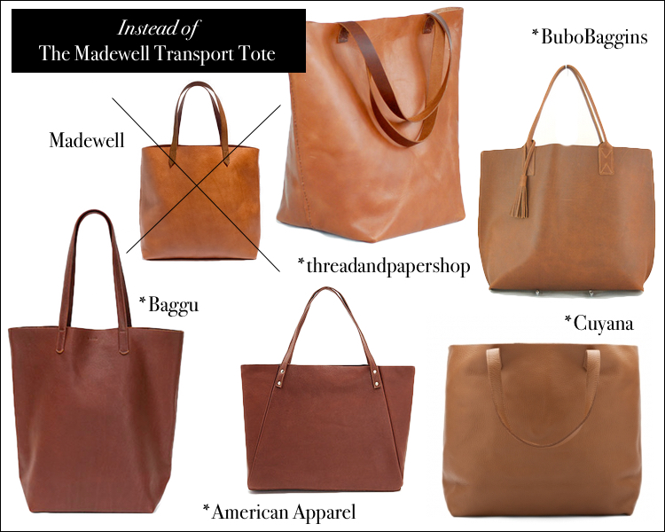 bca67d165 Buy This…Instead of That | Madewell Vs. Made in the US Leather Totes
