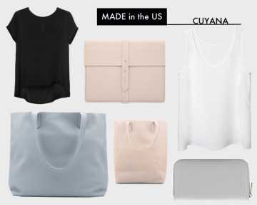 cuyana leather made in the US