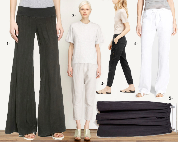 Summer Dressing | Linen Pants