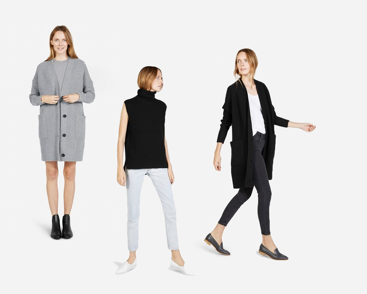 everlane chunky knit reviews