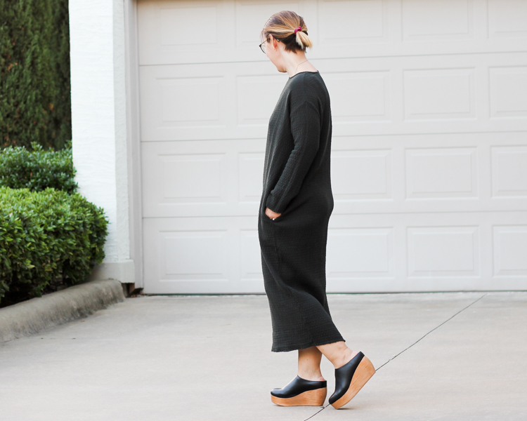 Outfit | Sydney Brown Vegan Clogs