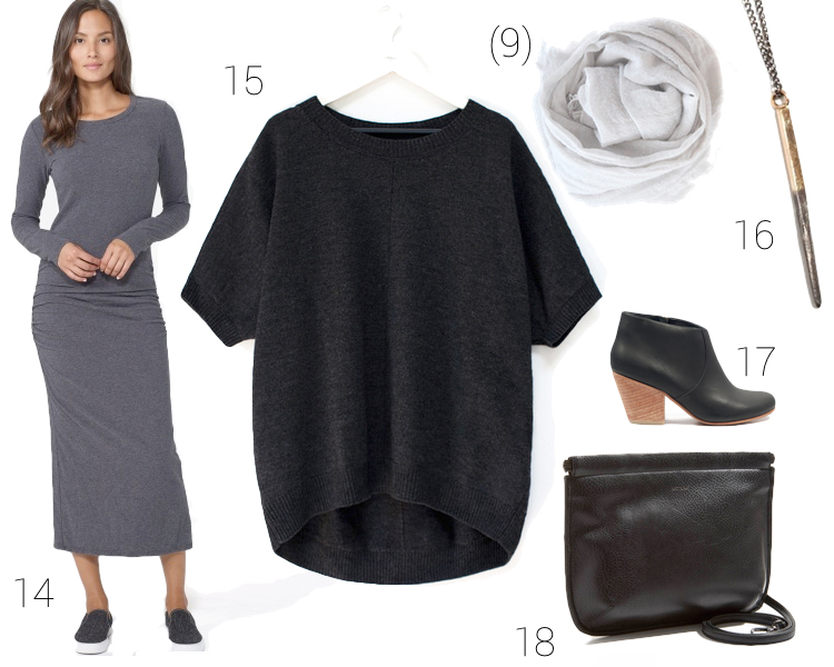 sustainable minimal fall wardrobe