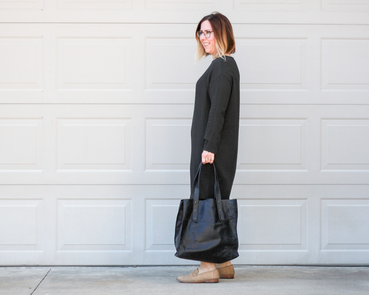 Outfit | Black Crane. Live & Learn