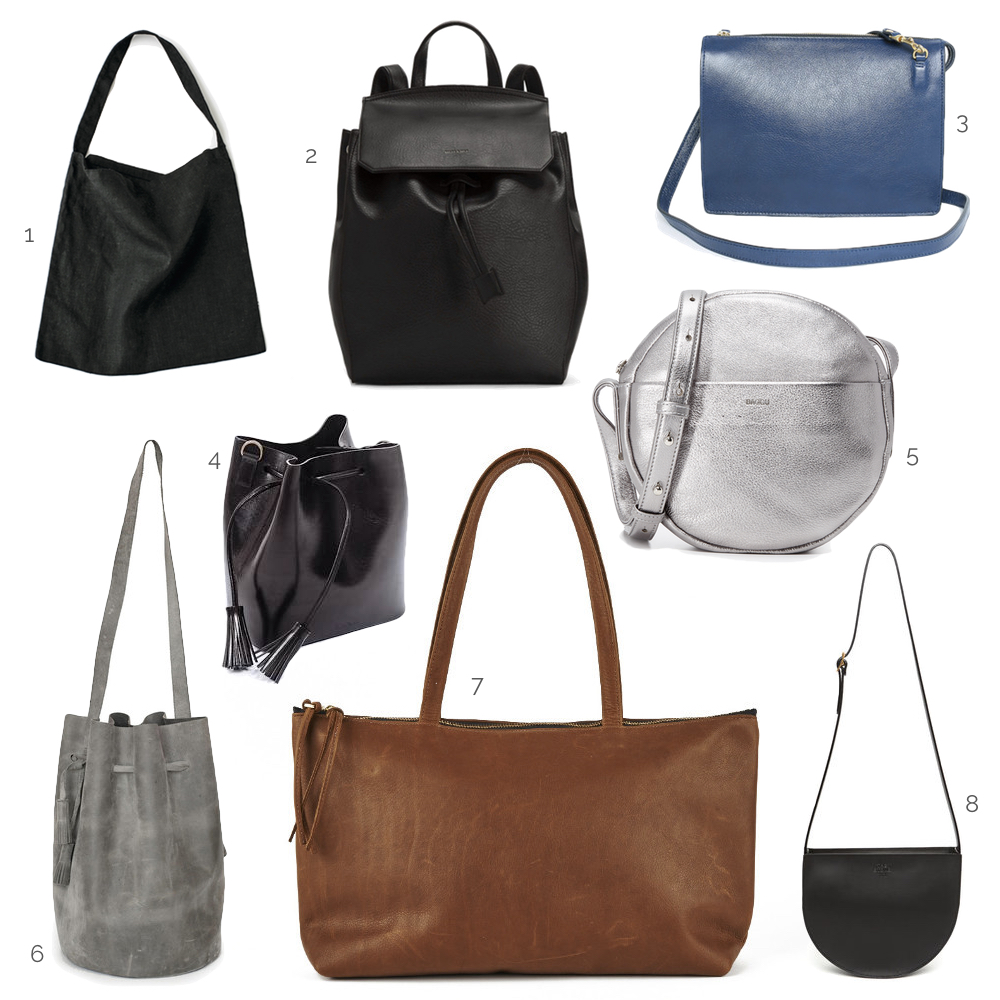 Handbags to wear with Modern Oversized Outerwear Styles