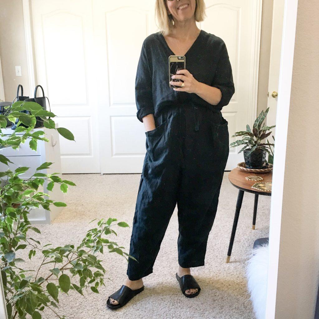 d6c8ce84ac28 Black Crane Painter jumpsuit (small)
