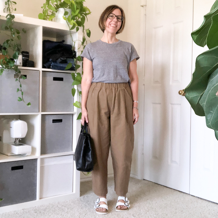 Outfit | Elizabeth Suzann Cotton Canvas Andy Trousers