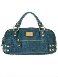 Dylan Croco Double Zippy Bag