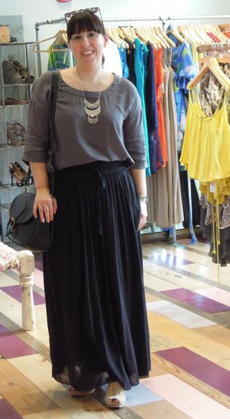 etoile isabel marant long skirt outfit