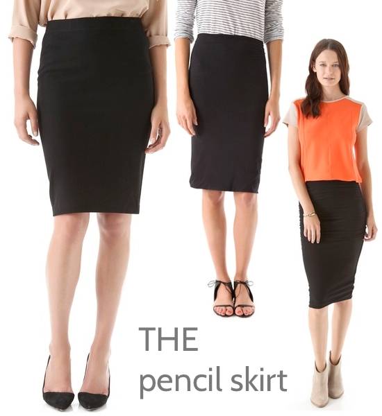vince james perse splendid pencil skirt