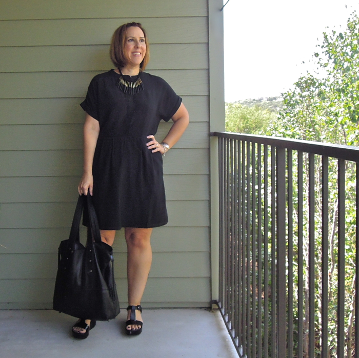 madewell silk dress, fashion blogger outfit, madewell dress review, madewell silk shirtdress