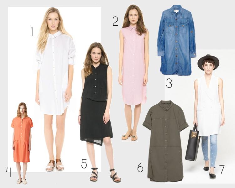 shopping for shirt dresses