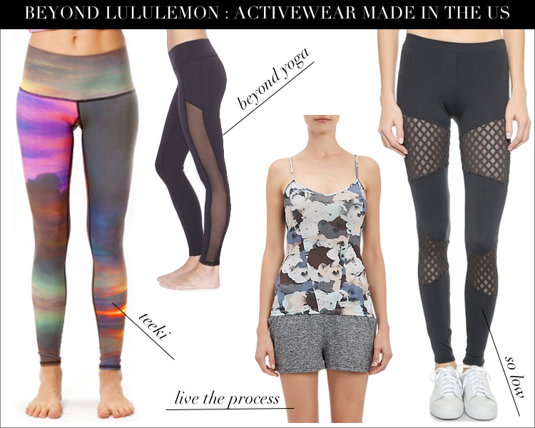 Beyond Lululemon Made In The Us Yoga Amp Barre Clothing