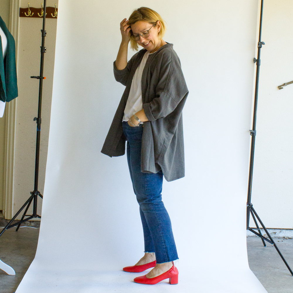 everlane day heel blogger review